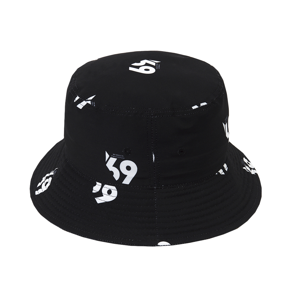 LMMM BUCKET HAT BLACK