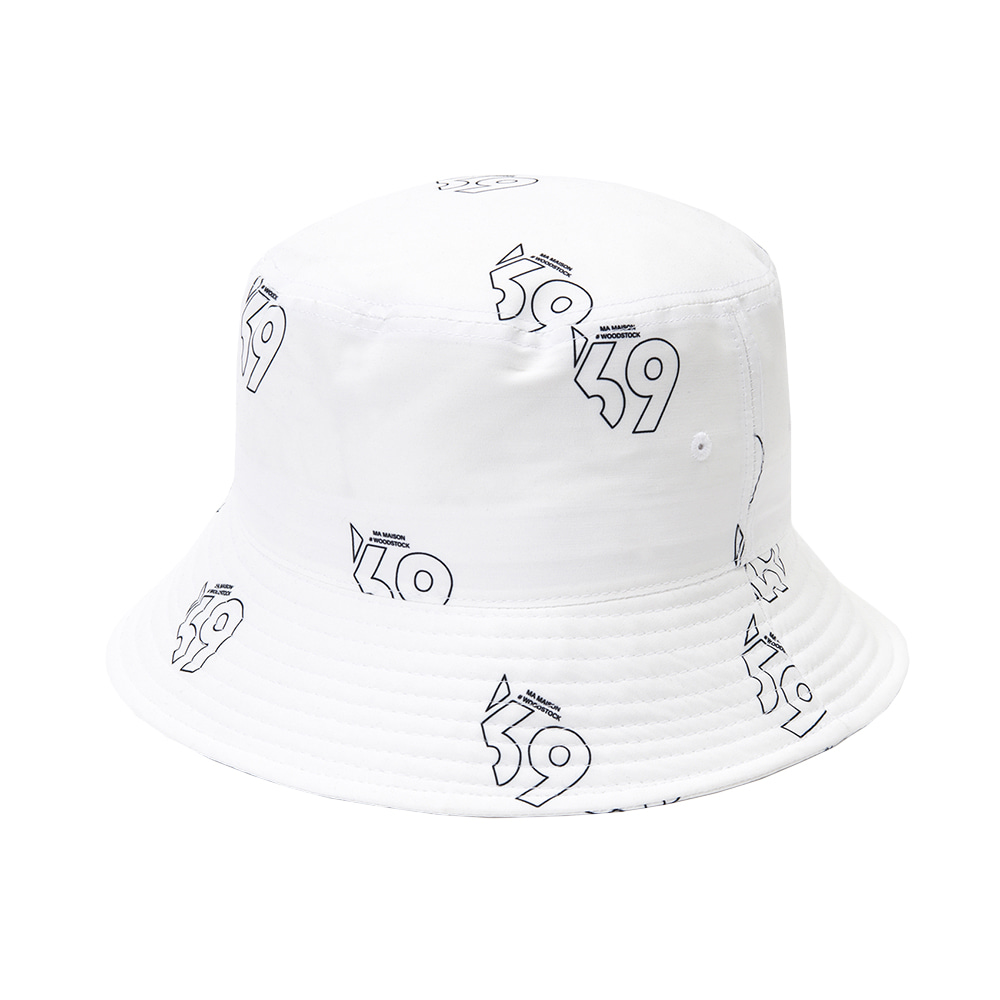 LMMM BUCKET HAT WHITE