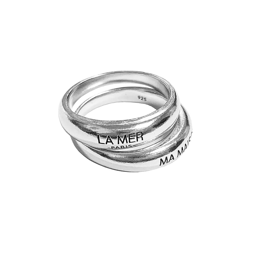 LMMM LOGO DOUBLE RING
