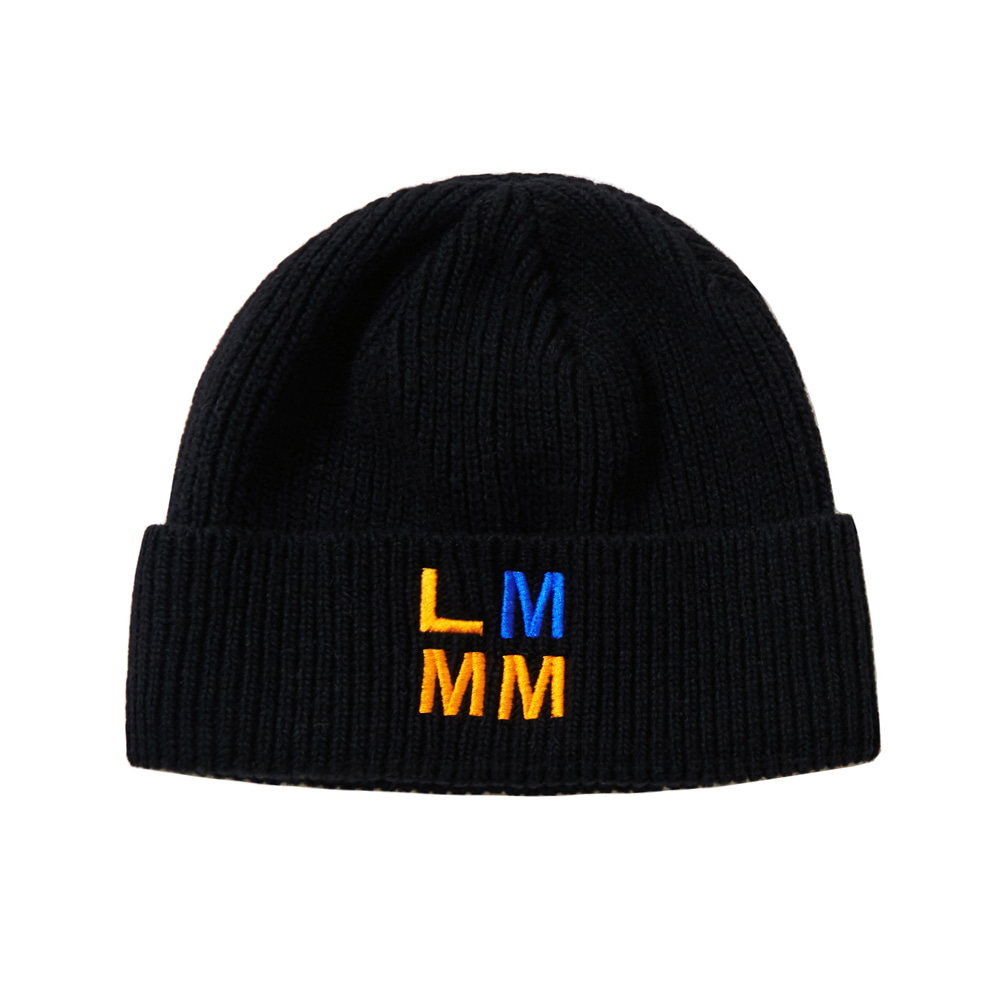 LMMM NEEDLE BEANIE BLACK